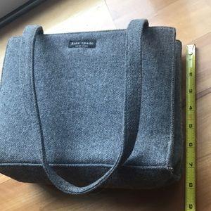 Original design wool Kate Spade box tote